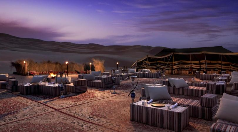 Dining by Design- Qasr Al Sarab - Abu Dhabi